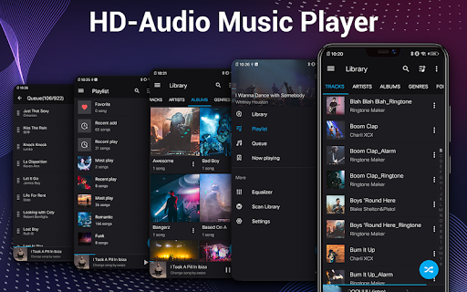Music Player - Audio Player & 10 Bands Equalizer 1.8.1 Screenshots 9