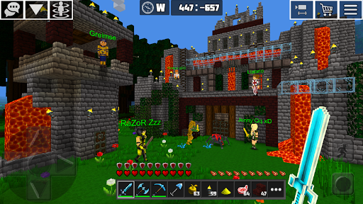 PlanetCraft: Block Craft Games apkpoly screenshots 13