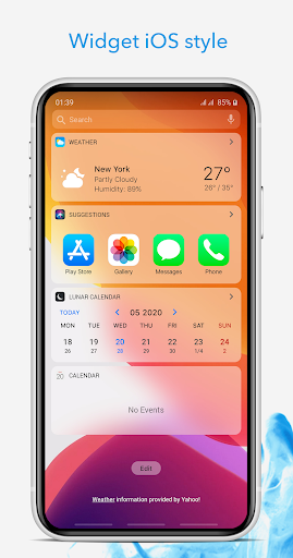 Launcher iOS 14 2.0 screenshots 2