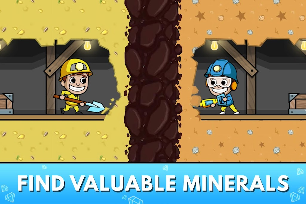 Idle Miner Tycoon: Gold & Cash Game MOD poster 2