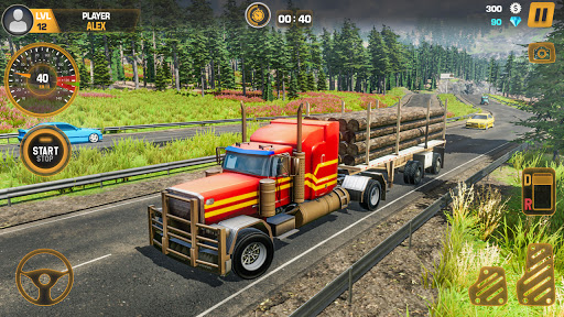 Heavy Truck Simulator USA: Euro Truck Driving 2021 android2mod screenshots 1