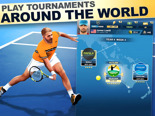 TOP SEED Tennis: Sports Management Simulation Game 2.47.1 screenshots 6