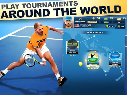 TOP SEED Tennis: Sports Management Simulation Game Mod Apk