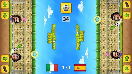 u26bdPuppet Soccer 2014 - Big Head Football ud83cudfc6  screenshots 8