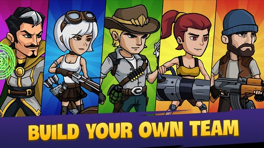 Zombie War: Idle Defense Game 49 MOD APK [INFINITE GOLD] 5