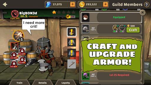 Raid Boss: Role-playing boss game, action battles screenshots 4