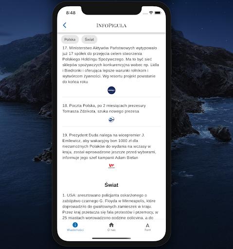 InfoPigula 1.5.0 screenshots 1