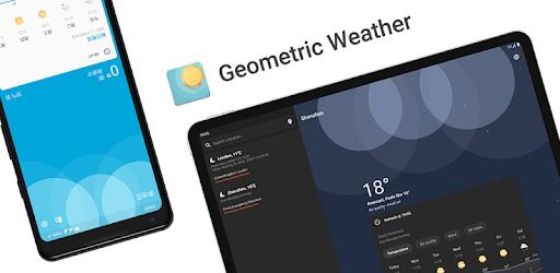 Geometric Weather App Widget