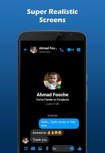 Fakenger Pro (Ad-Free) - Prank chat screenshots 2