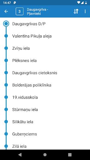 Riga Transport - timetables 8.0.3 screenshots 2