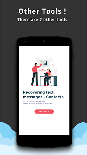 Text Messages Recovery - Contacts backup 5.1 screenshots 4