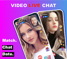 screenshot of Live Chat Video Call with strangers - Popa