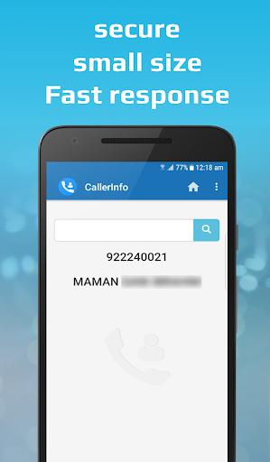 CallerInfo: Caller ID, Number lookup, Number book 4.0 Screenshots 3