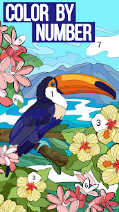 Happy Color Color by Number. Coloring games. Apk Download, NEW 2021 8