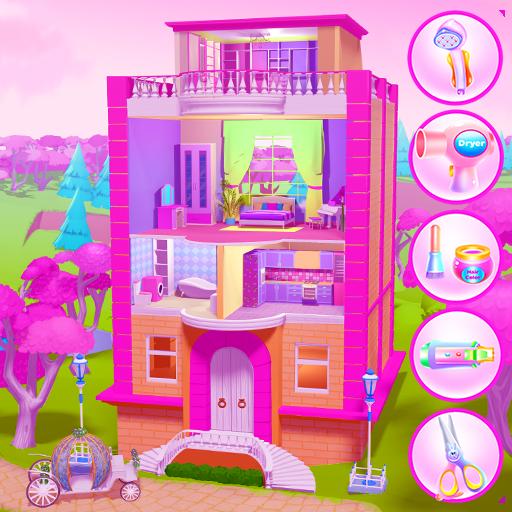 Violet - Cinderella Cleaning Castle