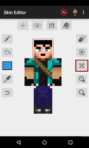 Skin Editor for Minecraft  screenshots 1