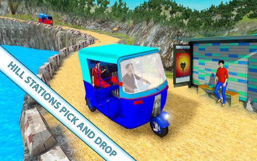 Modern auto tuk tuk Real rickshaw game 2021 1.8 screenshots 4