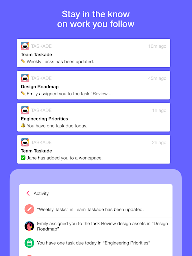 Taskade: All-in-One Collaboration for Remote Teams apktram screenshots 11