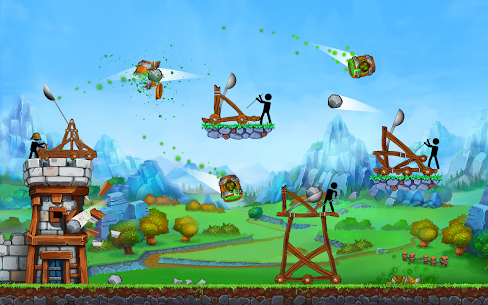 The Catapult — King of Mining Epic Stickman Castle 10