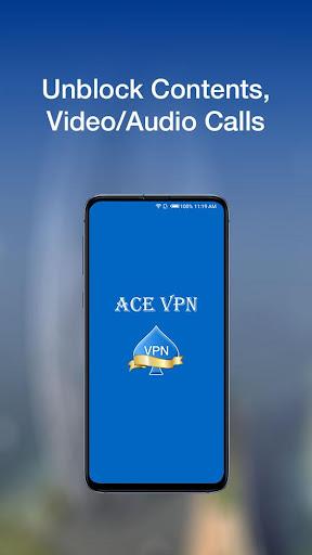 Ace VPN - A Fast, Unlimited Free VPN  Proxy 2.5.0 Screenshots 2