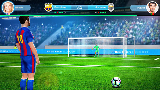 Télécharger gratuit FreeKick PvP Football APK MOD 2