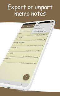 memo pad notepad app free app