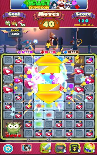 Jewel Dungeon - Match 3 Puzzle 1.0.99 screenshots 20