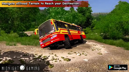 Offroad Coach Simulator : Offroad Bus Games 2021 4 screenshots 1