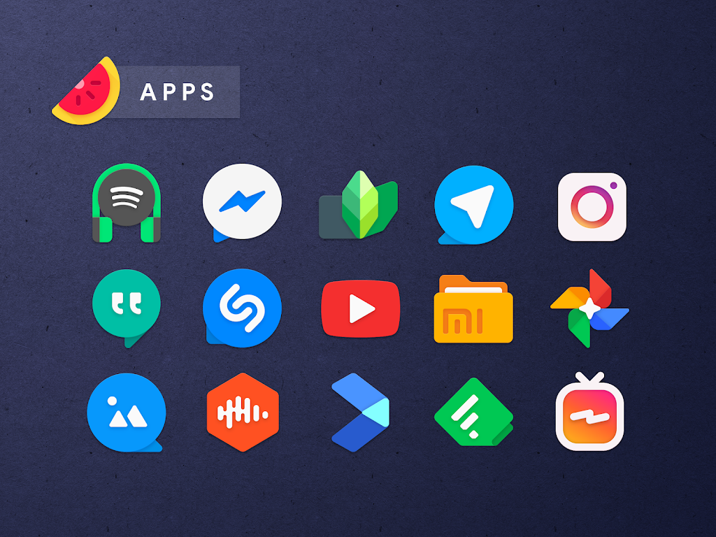 Sliced Icon Pack  poster 3