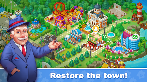 Town Blast: Restore & Decorate the Town! Puzzles  screenshots 3