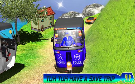 Police Tuk Tuk Auto Rickshaw Driving Game 2020 modavailable screenshots 3