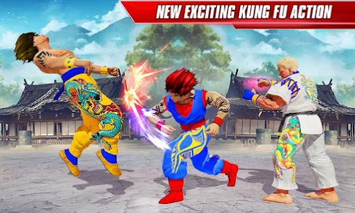 Kung Fu Fight Arena: Karate King Fighting Games MOD (Unlimited Gold) 4