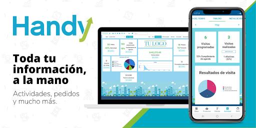 Handy - Preventa, venta en ruta y reparto  screenshots 1