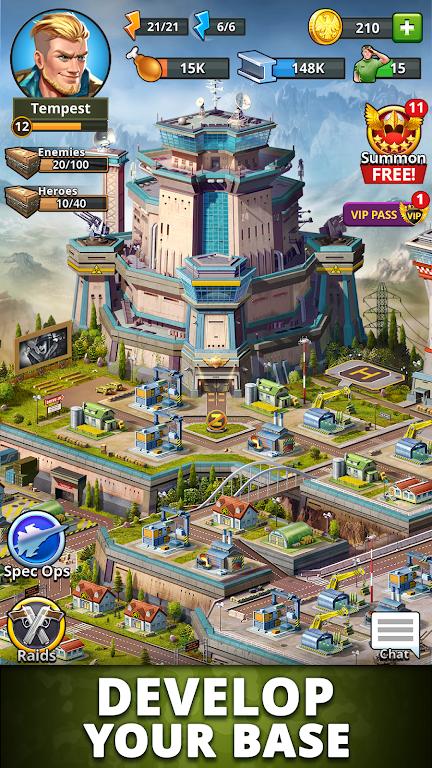 Puzzle Combat: Match-3 RPG poster 1