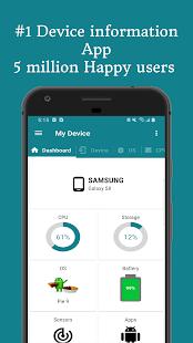 My Device - Device info