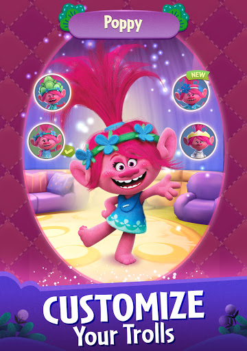 DreamWorks Trolls Pop: Bubble Shooter & Collection  screenshots 13