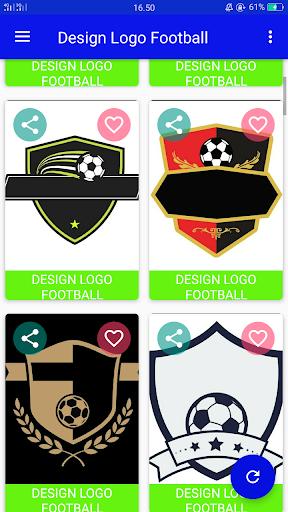 Design Logo Football 1.1 screenshots 1