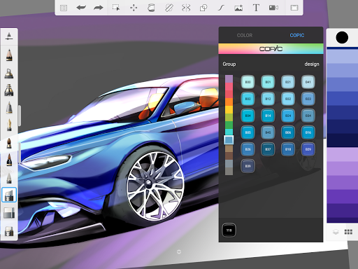 SketchBook - draw and paint 5.2.2 Screenshots 10