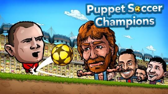 Puppet Soccer Champions – League MOD (Dumb Bots) 1