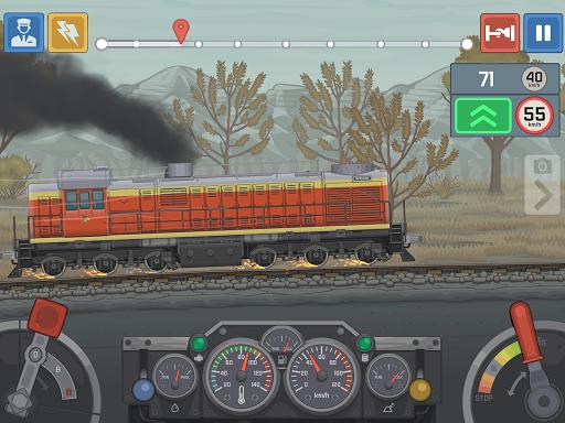 Train Simulator - 2D Railroad Game  Pc-softi 8