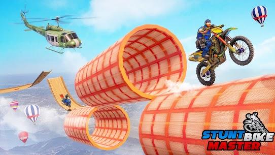 Police Bike Stunt Games MOD APK (Unlimited Money) 3