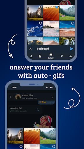 Tele Messenger Chats & Calls Free modavailable screenshots 7