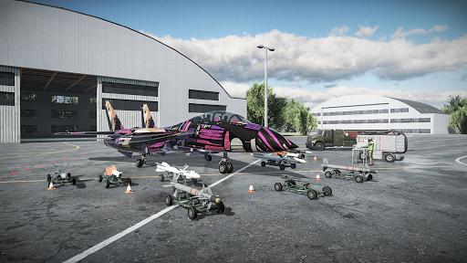 Sky Combat: Avions De Guerre APK MOD (Astuce) screenshots 2