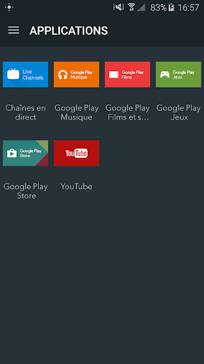 Foto do Remote Android TV