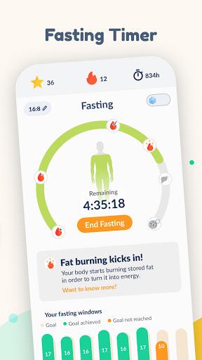 Fastic: Fasting App & Intermittent Fasting Tracker  screenshots 4