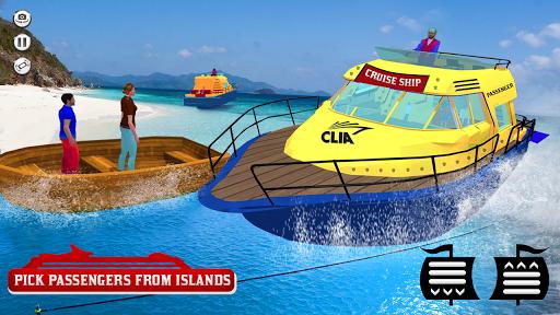 Cruise Captain: Water Boat Taxi Simulator apkmartins screenshots 1
