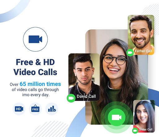 imo free video calls and chat  Screenshots 6