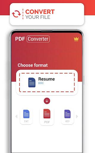 PDF Converter (doc ppt xls txt word png jpg wps) 207 Screenshots 4
