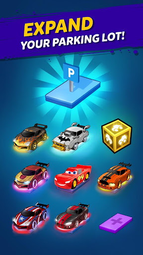 Merge Neon Car: Car Merger 2.0.17 screenshots 3