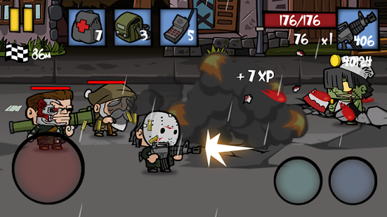 Zombie Age 2 Premium: Survive in the City of Dead Screenshot